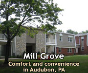 Mill Grove Apartments Audubon, PA