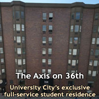 The Axis on 36th Apartments University City Philadelphia, PA